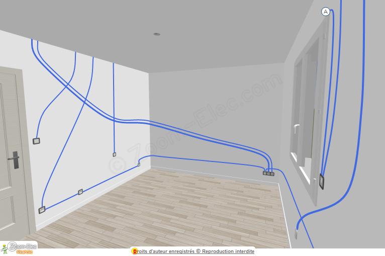 Installation Electrique Chambre L Electricite Dans Une Chambre Schema Et Plan Des Circuits Norme Electrique