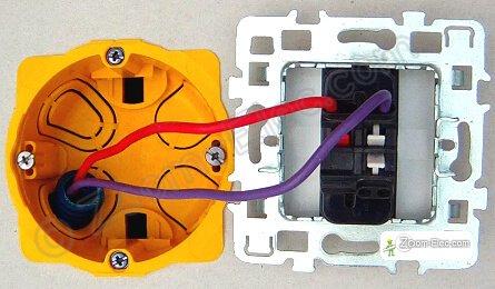 Montage, câblage, branchement d\'un interrupteur simple ...