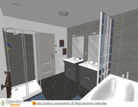 Installation électrique salle de bain salle d\'eau, l ...