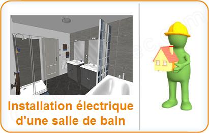 Installation Electrique Salle De Bain Salle D Eau L Electricite Dans La Salle De Bain Salle D Eau Schema Et Plan Des Circuits Norme Electrique