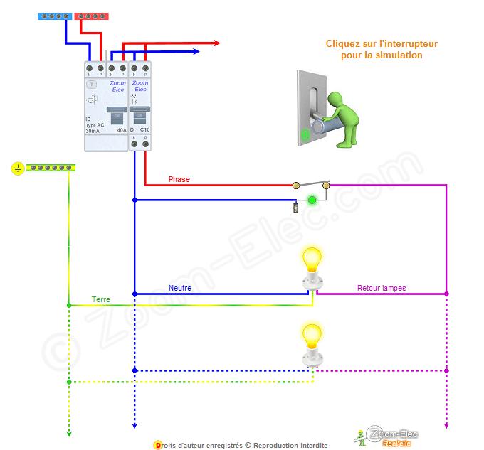 Branchement Interrupteur Avec Voyant : schma et branchement d 39 interrupteur avec voyant tmoin lumineux ~ Dailycaller-alerts.com Idées de Décoration