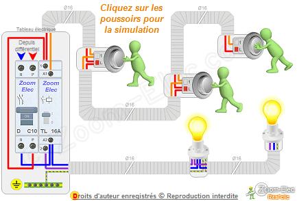 Montage Câblage Branchement Dun Télérupteur Et Boutons